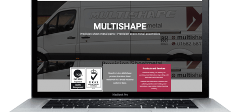 Website design - multishape