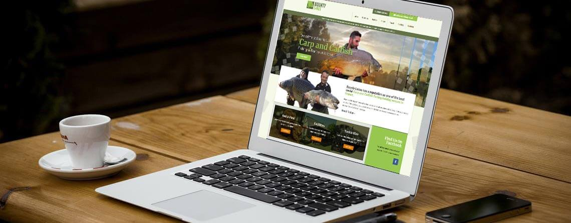 Bounty Lakes responsive website design