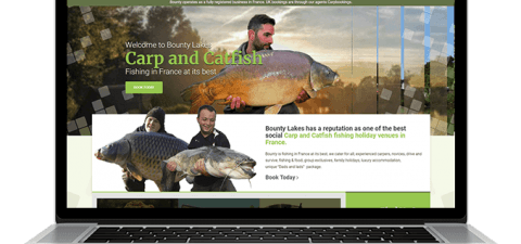 Website Design - Bounty Lakes