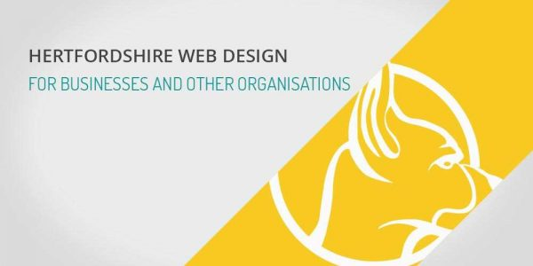 Hertfordshire web design for businesses and other organisations